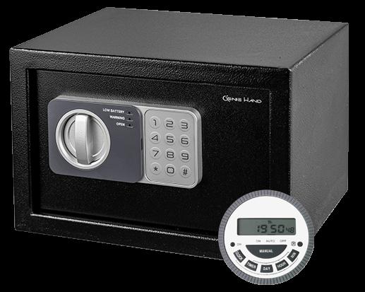 Genie hand - Time Lock Safe