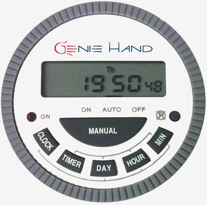 time lock safe timer - genie hand