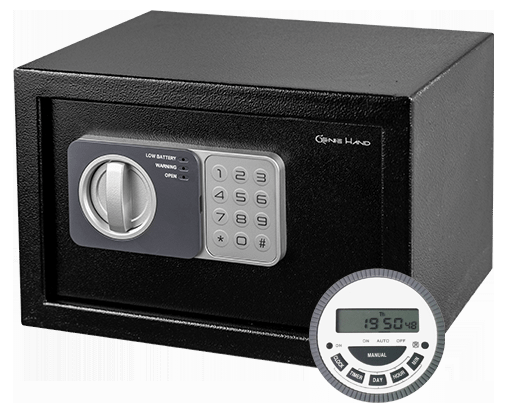 Genie hand - Time Lock Safe