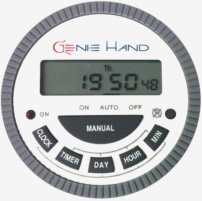 time lock safe timer - genie hand